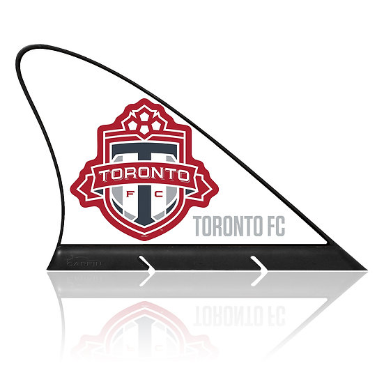 Toronto FC CARFIN, Magnetic Car Flag  & Car Sign.