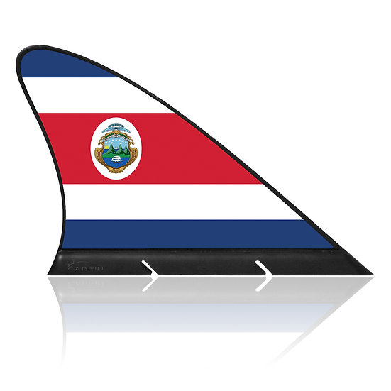 Costa Rica CARFIN, Magnetic Car Flag & Car Sign.
