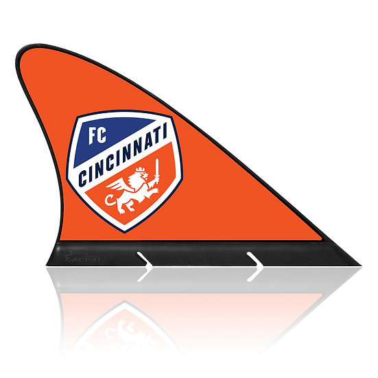 FC Cincinnati CARFIN, Magnetic Car Flag  & Car Sign.