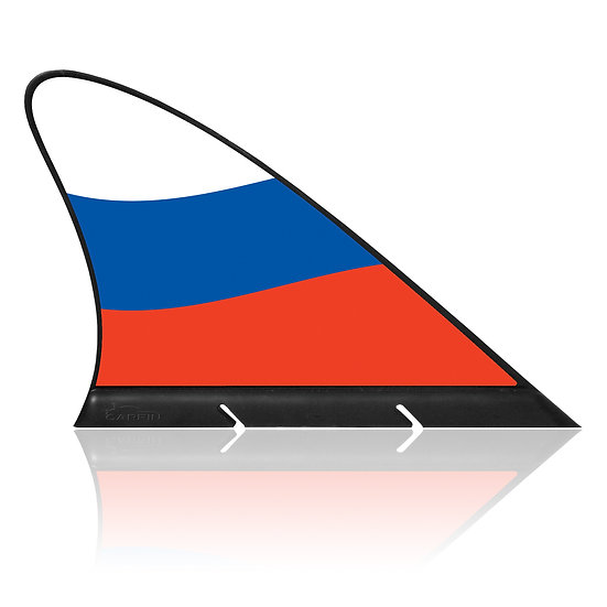 Russia CARFIN, Magnetic Car Flag & Car Sign.