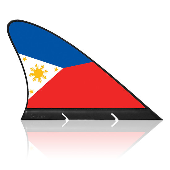 Philippines CARFIN, Magnetic Car Flag & Car Sign.