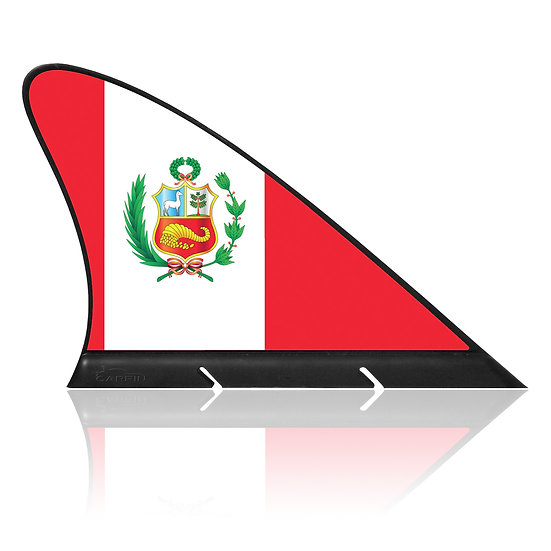 Peru CARFIN, Magnetic Car Flag & Car Sign.