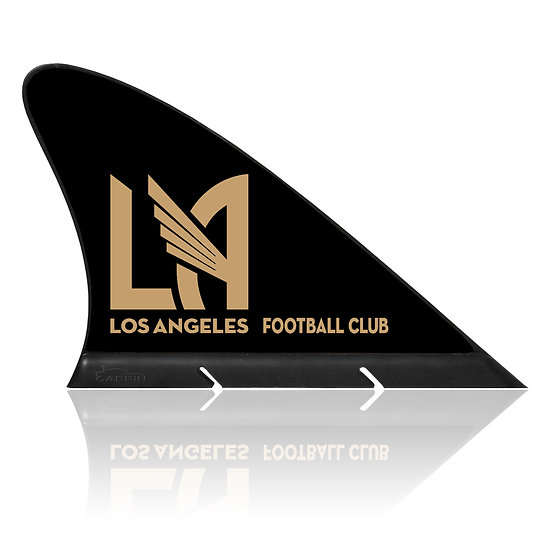 Los Angeles FC CARFIN, Magnetic Car Flag  & Car Sign.