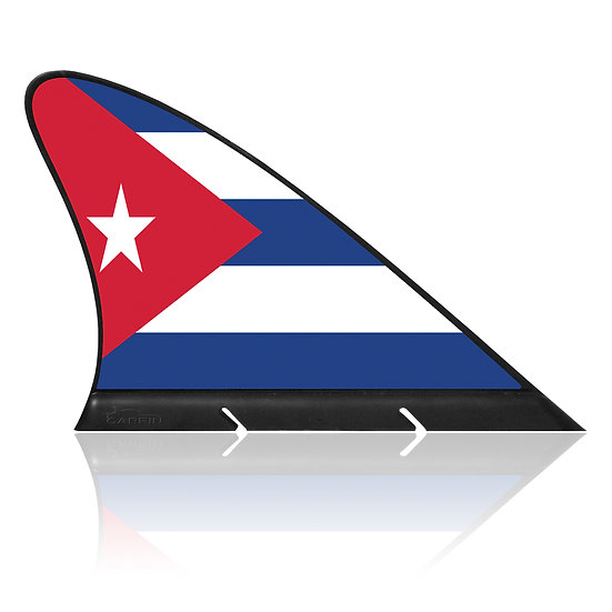 Cuba CARFIN, Magnetic Car Flag & Car Sign.