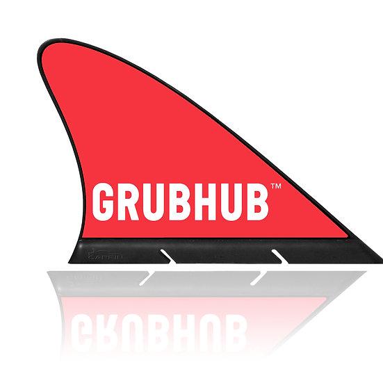 Grubhub CARFIN, Magnetic Car Flag &  Car Sign.