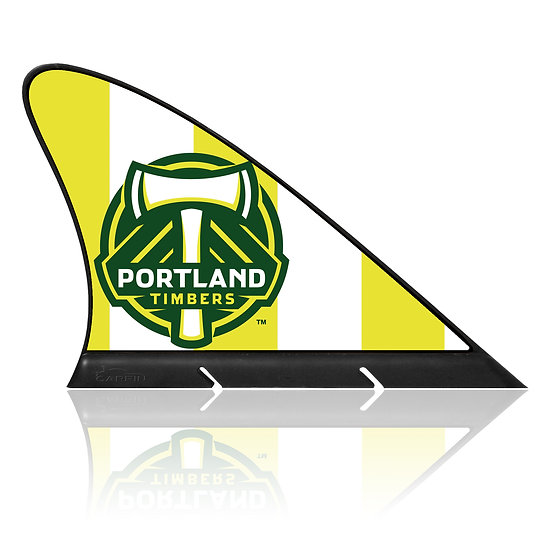 Portland Timbers CARFIN, Magnetic Car Flag  & Car Sign.