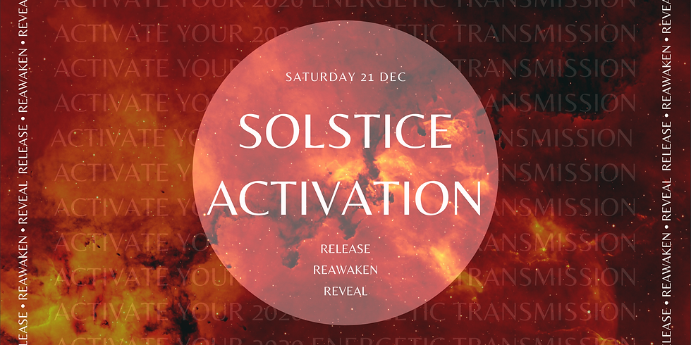 Solstice Activation: Activate Your 2020 Energetic Transmission