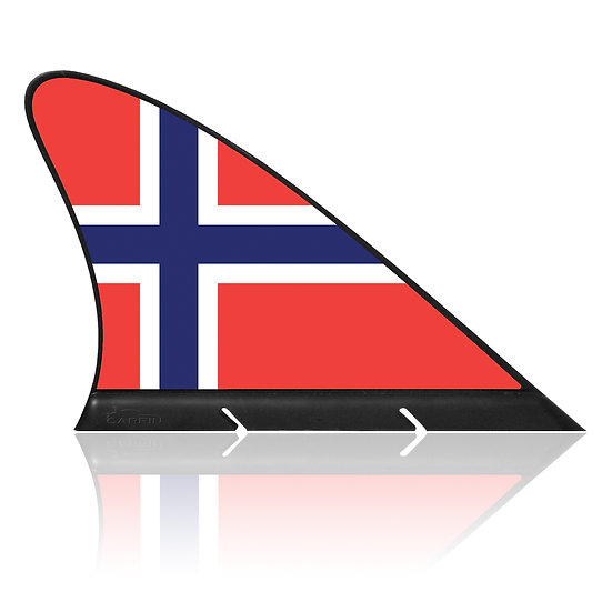 Norway CARFIN, Magnetic Car Flag & Car Sign.