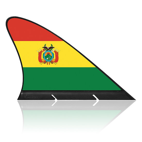 Bolivia CARFIN, Magnetic Car Flag & Car Sign.