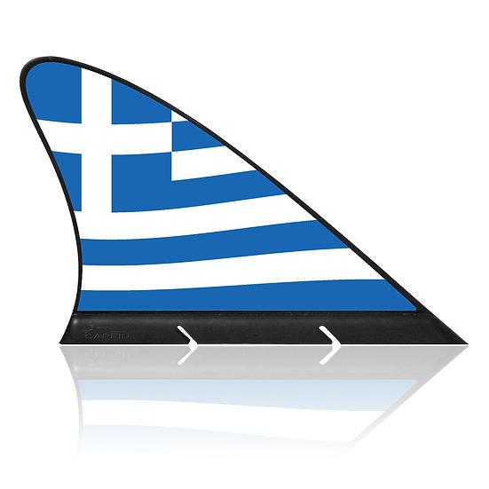 Greece CARFIN, Magnetic Car Flag & Car Sign.