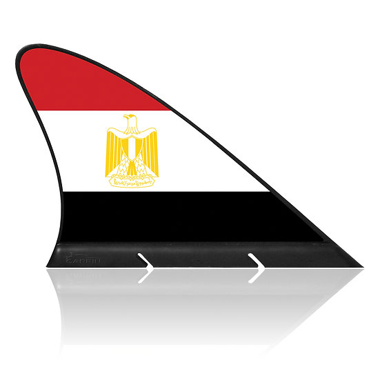 Egypt CARFIN, Magnetic Car Flag & Car Sign.