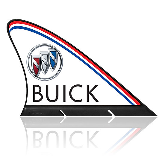 Buick CARFIN, Magnetic Car Flag &  Car Sign.