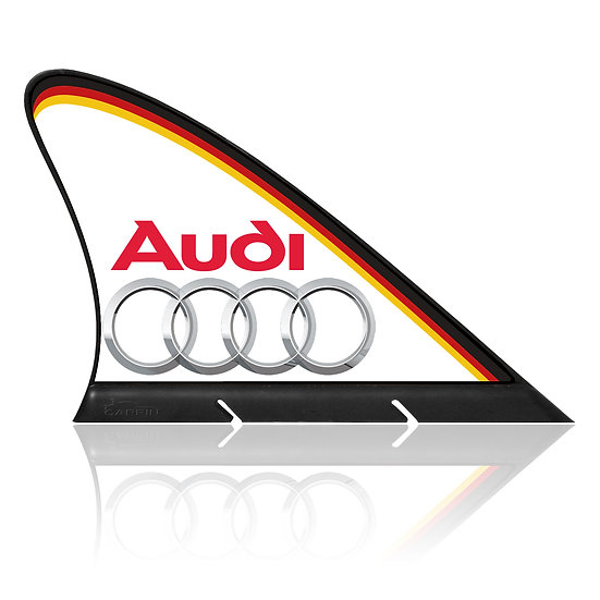 Audi CARFIN, Magnetic Car Flag  & Car Sign.