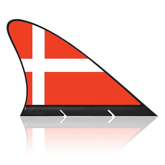 Denmark CARFIN, Magnetic Car Flag & Car Sign.