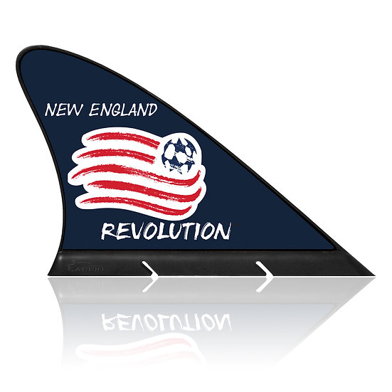 New England Revolution CARFIN, Magnetic Car Flag  & Car Sign.