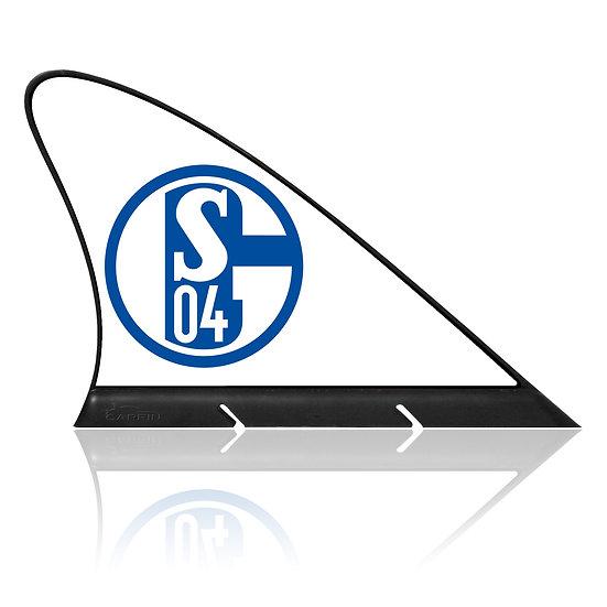 Schalke CARFIN, Magnetic Car Flag  &  Car Sign.