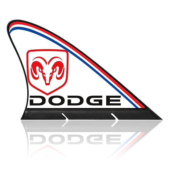Dodge CARFIN, Magnetic Car Flag &   Car Sign.