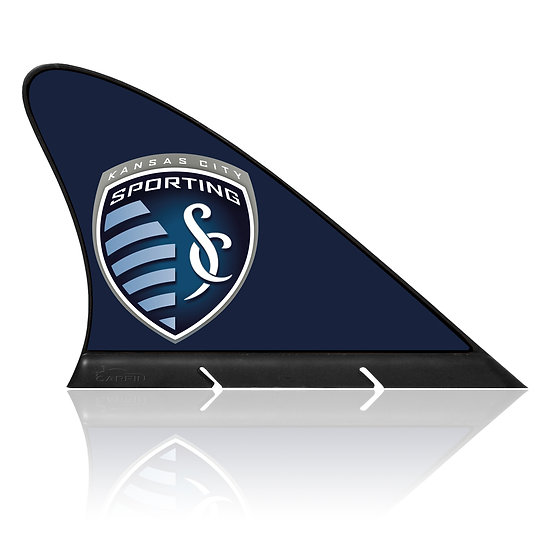 Sporting Kansas City CARFIN, Magnetic Car Flag  & Car Sign.