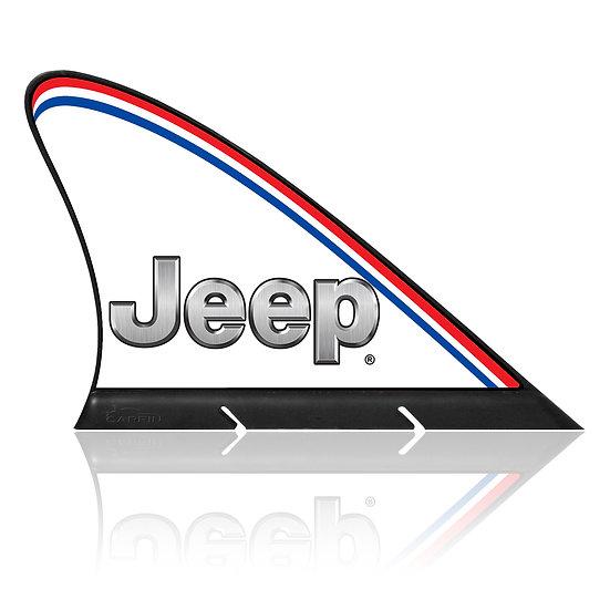 Jeep CARFIN, Magnetic Car Flag &   Car Sign.