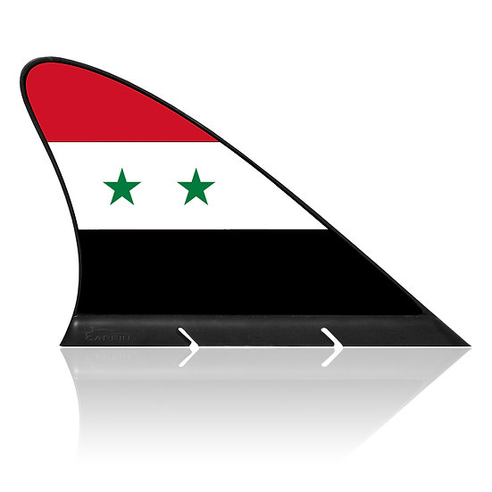 Syria CARFIN, Magnetic Car Flag & Car Sign.