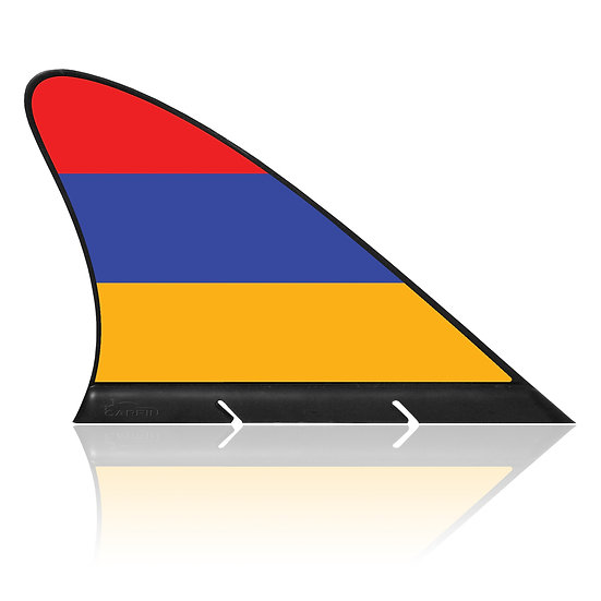 Armenia CARFIN, Magnetic Car Flag & Car Sign.