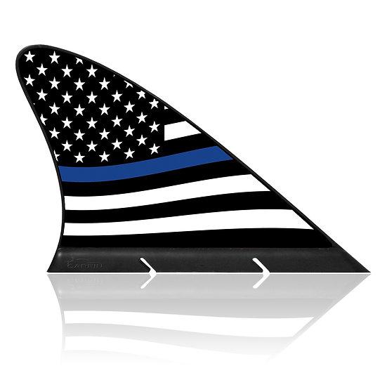 USA Police CARFIN, Magnetic Car Flag &  Car Sign.