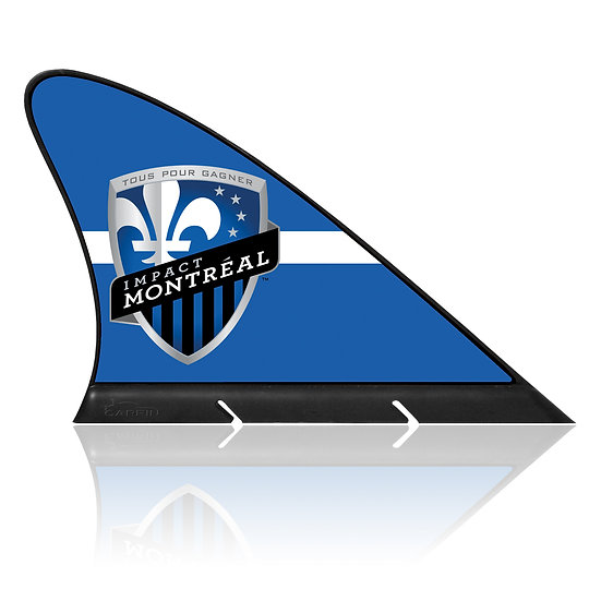Montreal Impact CARFIN, Magnetic Car Flag  & Car Sign.