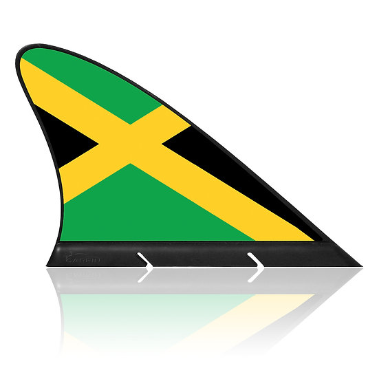 Jamaica CARFIN, Magnetic Car Flag & Car Sign.