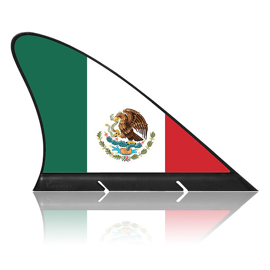 Mexico CARFIN, Magnetic Car Flag &  Car Sign.