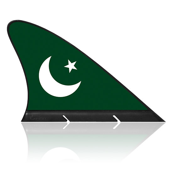 Pakistan CARFIN, Magnetic Car Flag & Car Sign.