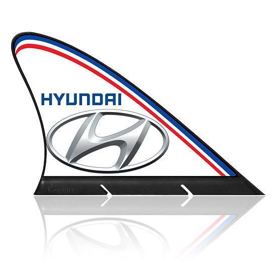 Hyundai CARFIN, Magnetic Car Flag &  Car Sign.
