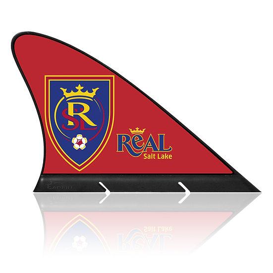Real Salt Lake FC CARFIN, Magnetic Car Flag  & Car Sign.