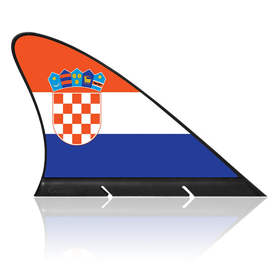 Croatia CARFIN, Magnetic Car Flag & Car Sign.