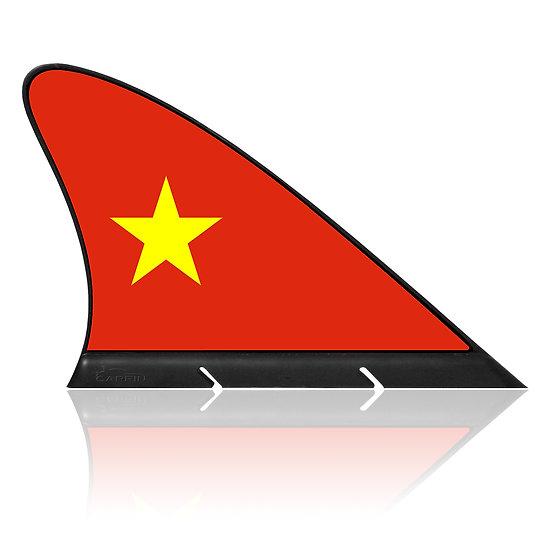 Vietnam CARFIN, Magnetic Car Flag &  Car Sign.