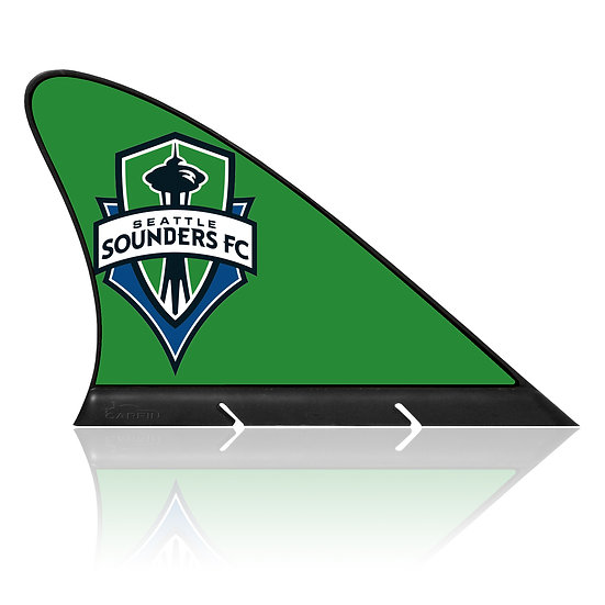 Seattle Sounders FC CARFIN, Magnetic Car Flag  & Car Sign.