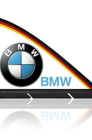 BMW CARFIN, Magnetic Car Flag &  Car Sign.