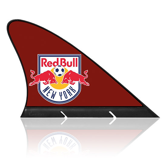 NY Red Bulls FC CARFIN, Magnetic Car Flag  & Car Sign.