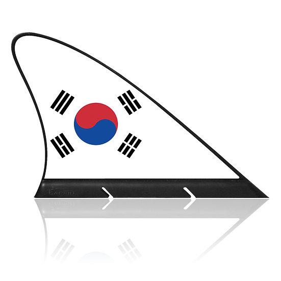 South Korea CARFIN, Magnetic Car Flag & Car Sign.