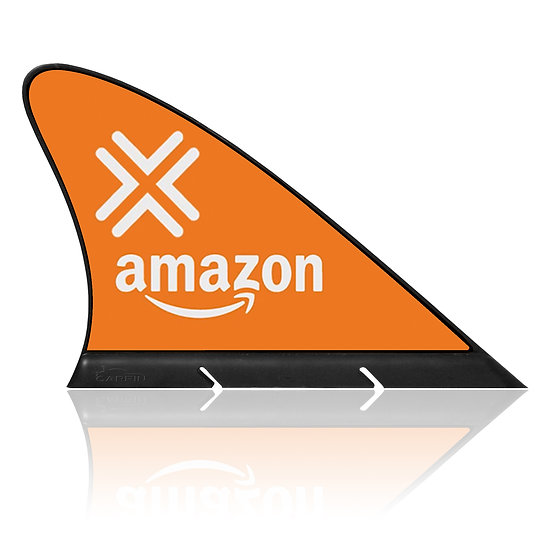 Amazon Flex  CARFIN, Magnetic Car Flag &  Car Sign.