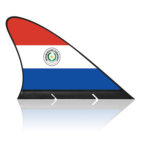 Paraguay CARFIN, Magnetic Car Flag & Car Sign.