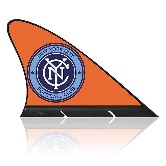 New York City FC CARFIN, Magnetic Car Flag  & Car Sign.