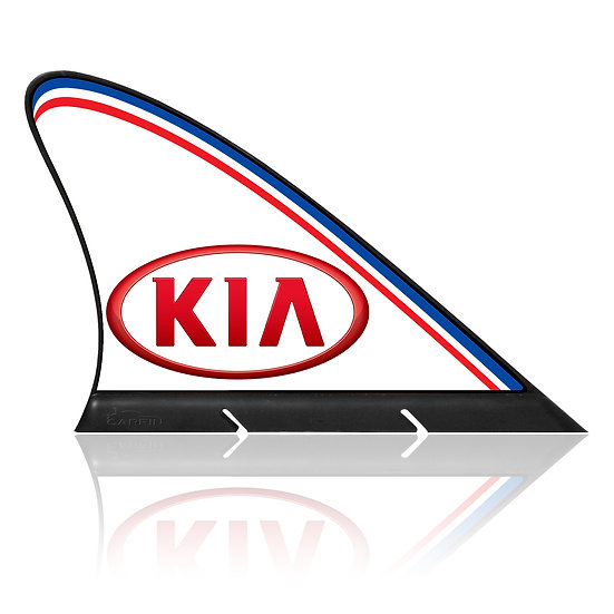 Kia CARFIN, Magnetic Car Flag &   Car Sign.