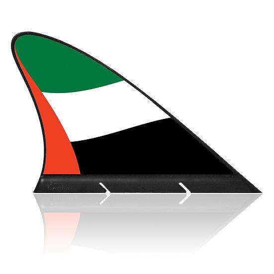 United Arab Emirates CARFIN, Magnetic Car Flag & Car Sign.