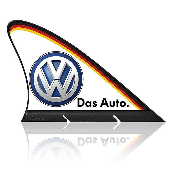 Volkswagen CARFIN, Magnetic Car Flag & Car Sign.