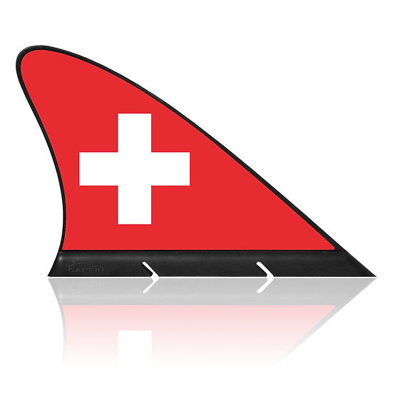 Swiss CARFIN, Magnetic Car Flag & Car Sign.