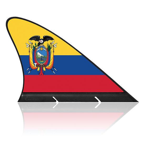 Ecuador CARFIN, Magnetic Car Flag & Car Sign.