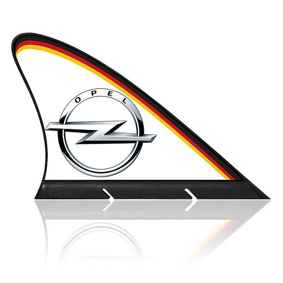 Opel CARFIN, Magnetic Car Flag &  Car Sign.