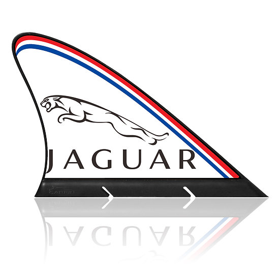 Jaguar CARFIN, Magnetic Car Flag &   Car Sign.