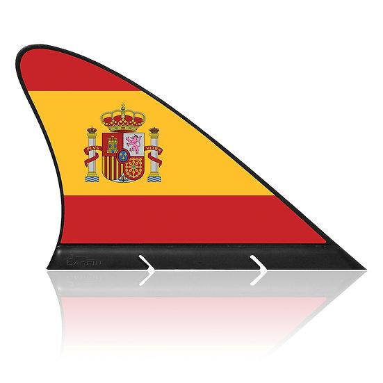 Spain CARFIN, Magnetic Car Flag & Car Sign.