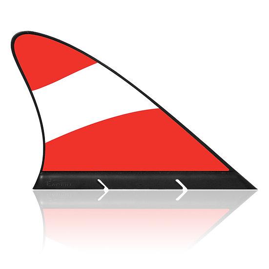 Austria CARFIN, Magnetic Car Flag & Car Sign.